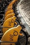 Villo... des mots ville et vélo!