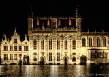 Place du Burg, Hôtel de Ville de Bruges
