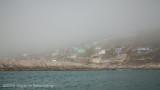 Brouillard sur Kangaamiut