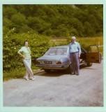 Grandpa, grandma and the grey Audi 80LS