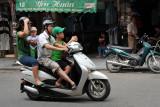 Street of Hanoi (Vietnam)