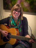 Jessica Heine Playing at the Daffodil Gallery
