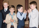 First Communion and Boys will be Boys