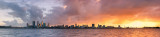 Perth and the Swan River at Sunrise, 15th August 2011