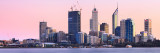Perth and the Swan River at Sunrise, 19th August 2011
