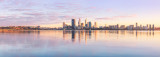 Perth and the Swan River at Sunrise, 26th August 2011
