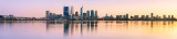 Perth and the Swan River at Sunrise, 5th August 2011