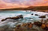 Sunrise at Cape Naturaliste, 25th February 2012