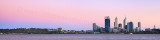 Perth and the Swan River at Sunrise, 14th March 2012