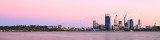Perth and the Swan River at Sunrise, 16th March 2012