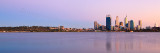 Perth and the Swan River at Sunrise, 27th March 2012