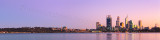 Perth and the Swan River at Sunrise, 29th May 2012