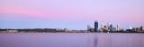 Perth and the Swan River at Sunrise, 12th November 2012