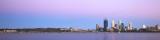 Perth and the Swan River at Sunrise, 21st November 2012
