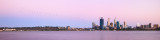 Perth and the Swan River at Sunrise, 27th February 2013