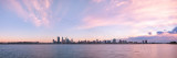 Perth and the Swan River at Sunrise, 12th June 2013