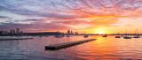 Matilda Bay Sunrise, 18th June 2013