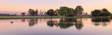 Sunrise by the Swan River, 19th August 2013