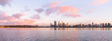 Perth and the Swan River at Sunrise, 21st September 2013