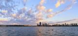 Perth and the Swan River at Sunrise, 22nd November 2013