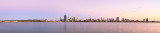 Perth and the Swan River at Sunrise, 14th February 2014