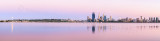 Perth and the Swan River at Sunrise, 15th February 2014