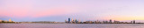 Perth and the Swan River at Sunrise, 21st February 2014