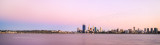 Perth and the Swan River at Sunrise, 26th February 2014