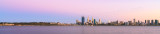 Perth and the Swan River at Sunrise, 5th March 2014