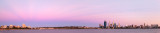 Perth and the Swan River at Sunrise, 7th March 2014