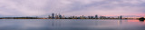 Perth and the Swan River at Sunrise, 1st April 2014