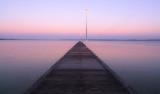 Sunrise at Como Jetty, 7th April 2014