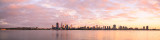 Perth and the Swan River at Sunrise, 17th April 2014