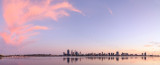 Perth and the Swan River at Sunrise, 20th April 2014
