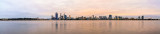 Perth and the Swan River at Sunrise, 5th May 2014