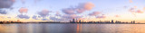 Perth and the Swan River at Sunrise, 16th May 2014