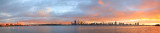 Perth and the Swan River at Sunrise, 19th May 2014