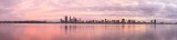 Perth and the Swan River at Sunrise, 26th May 2014