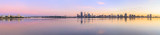 Perth and the Swan River at Sunrise, 30th May 2014