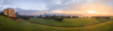 Misty Sunrise Over Perth and Sir James Mitchell Park, 2nd June 2014