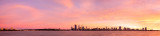 Perth and the Swan River at Sunrise, 7th June 2014