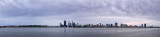 Perth and the Swan River at Sunrise, 8th June 2014