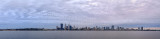 Perth and the Swan River at Sunrise, 9th June 2014