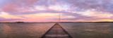 Sunrise at Como Jetty, 17th June 2014