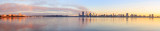 Perth and the Swan River at Sunrise, 9th July 2014
