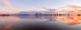Perth and the Swan River at Sunrise, 11th July 2014
