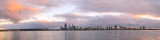Perth and the Swan River at Sunrise, 29th July 2014