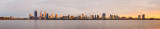 Perth and the Swan River at Sunrise, 23rd September 2014