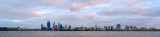 Perth and the Swan River at Sunrise, 28th September 2014
