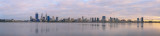 Perth and the Swan River at Sunrise, 30th September 2014